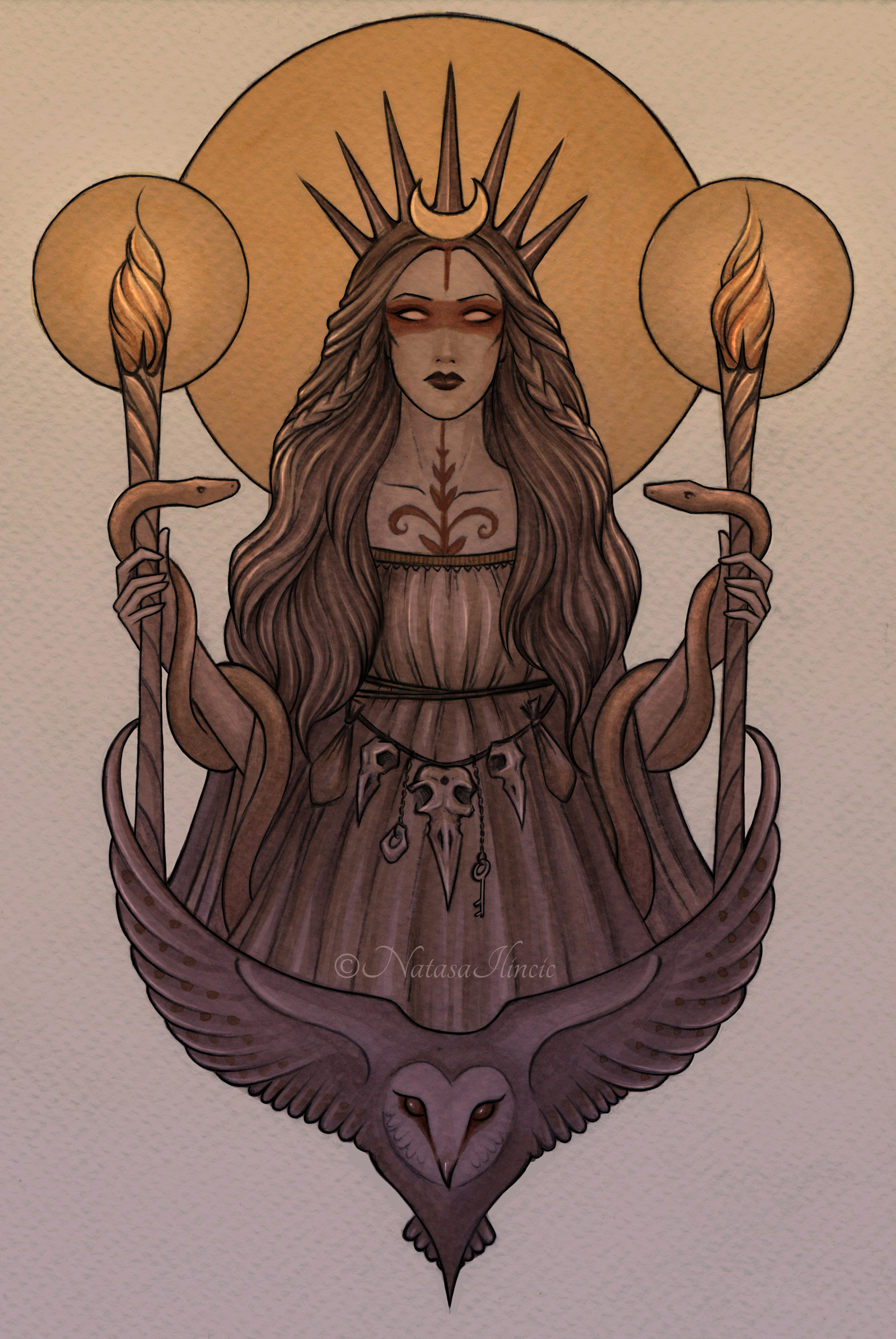 Hecate by NatasaIlincic