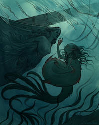 The day a mermaid found a shipwreck by NatasaIlincic