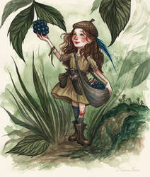 Little Barbara by NatasaIlincic
