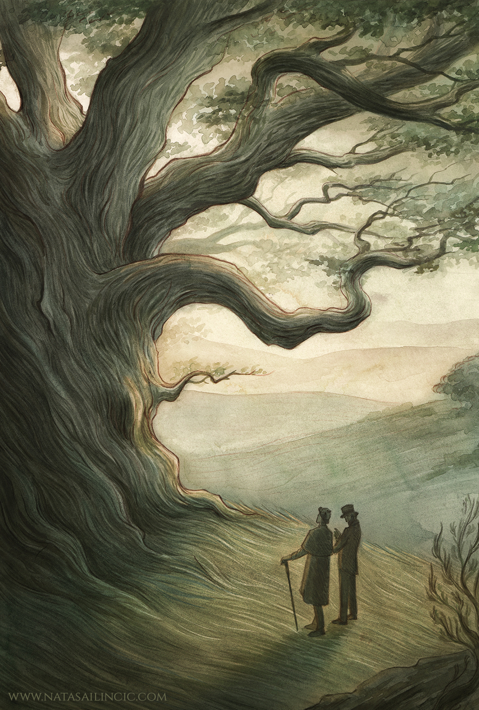 Sherlock Holmes - a patriarch among oaks by NatasaIlincic