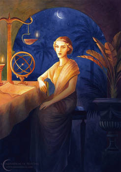 A Compendium of Witches ~ Cyanea