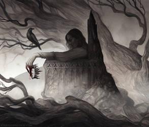 The Raven's ballad ~ Book cover