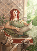 A Compendium of Witches ~ Cornelia by NatasaIlincic