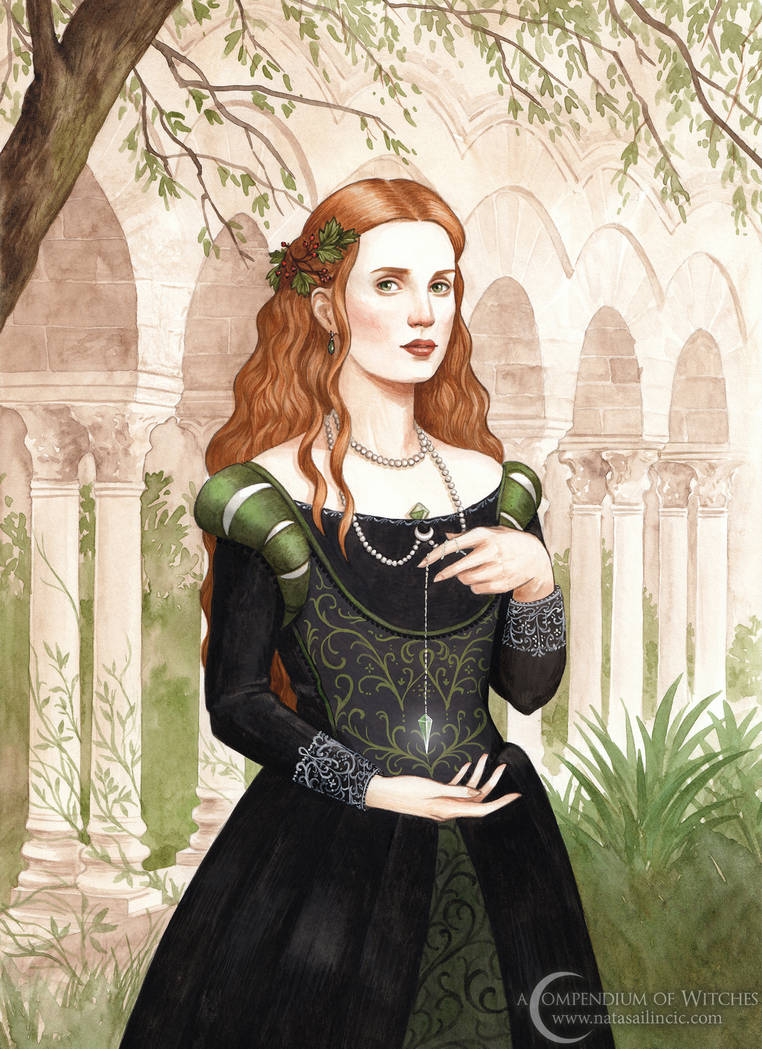 A Compendium of Witches ~ Lucretia by NatasaIlincic