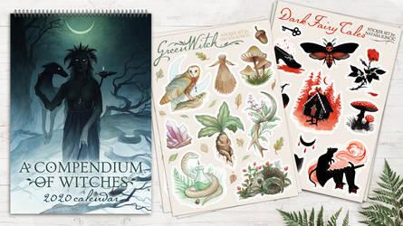 Calendar and Sticker sets!