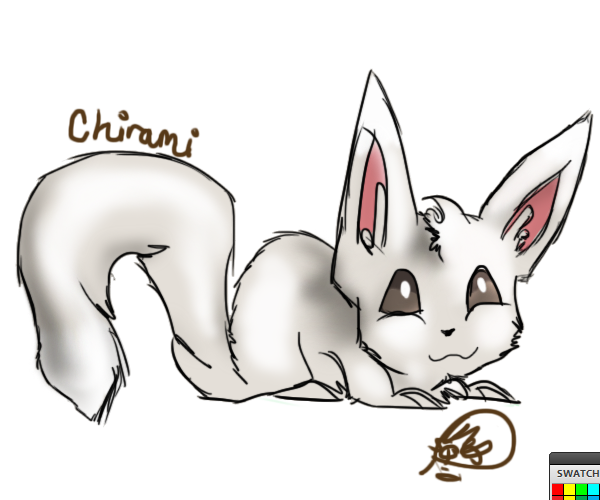 chiramii doodle by Squirrelflighty