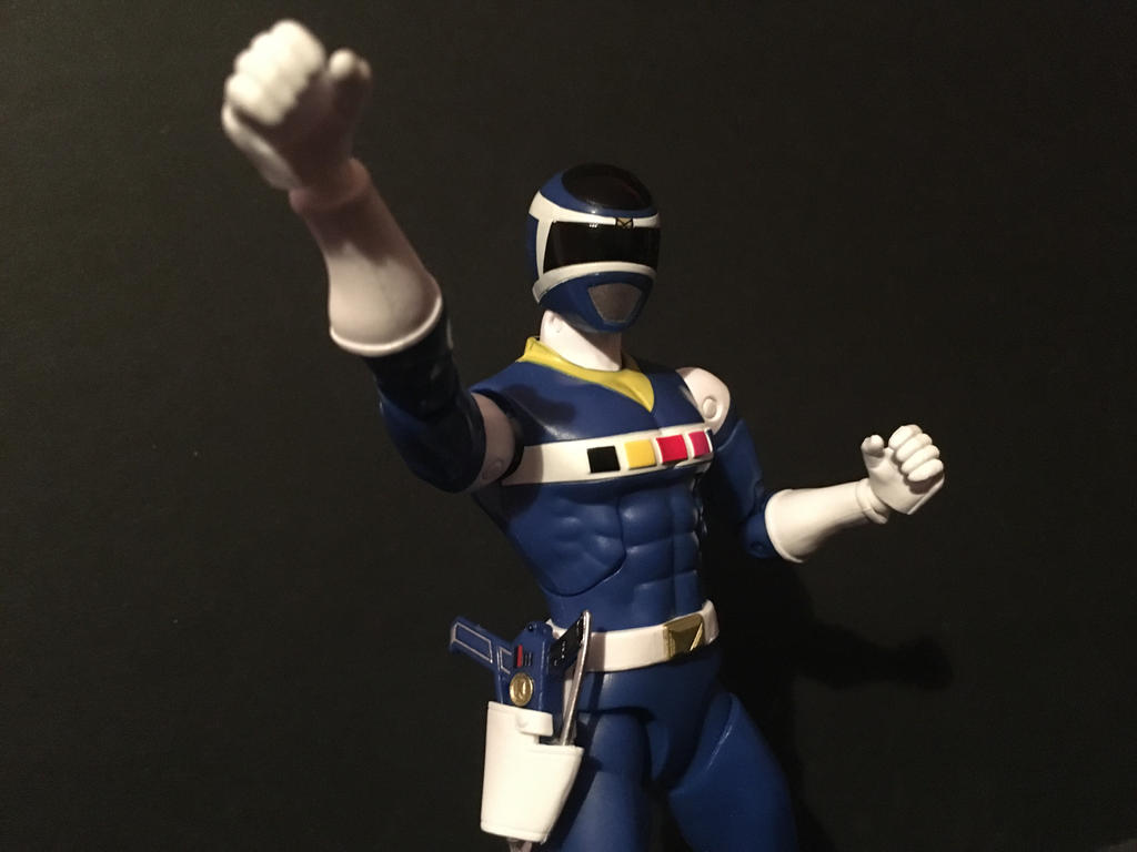 Blue Space Ranger by eternalview on DeviantArt