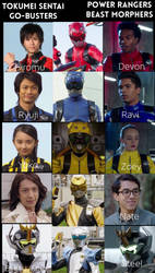 Go-Busters-Beast Morphers by eternalview