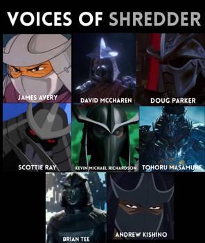 Voices of Shredder