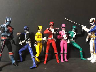 Dekaranger aka Power Rangers SPD