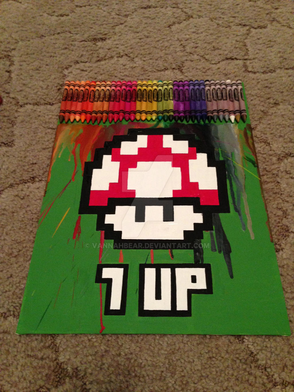 1 UP by VannahBear