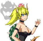 Bowsette-yellow