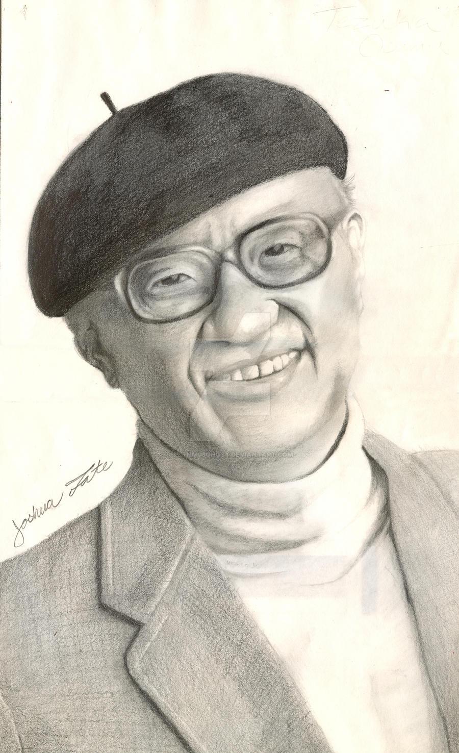 Osamu Tezuka Portrait by Pltnm06Ghost