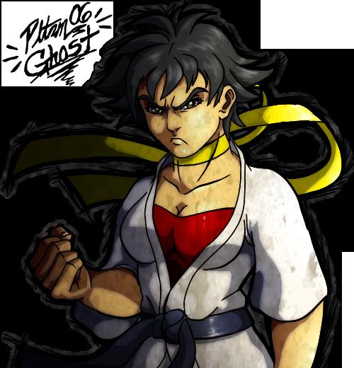 Makoto Portrait by Pltnm06Ghost