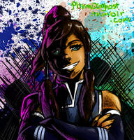 Korra Sketch Thingy by Pltnm06Ghost