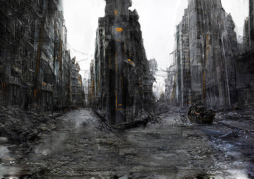 Ruined City by OlegDaniel