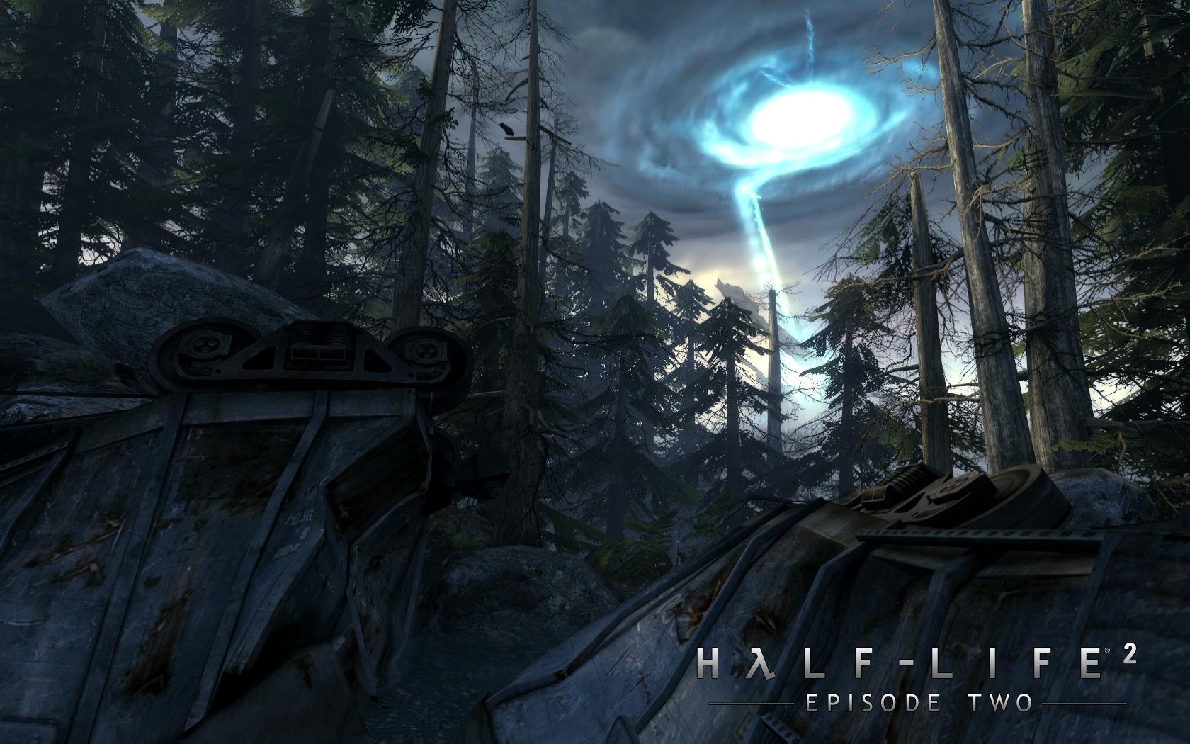 Half-life 2: episode 1 logo 03 обои 1440x900 обои - half-life 2: episode 1 logo обои - игра обои