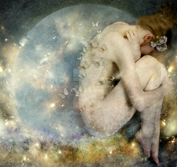 Daughter of the Moon by ROSASINMAS