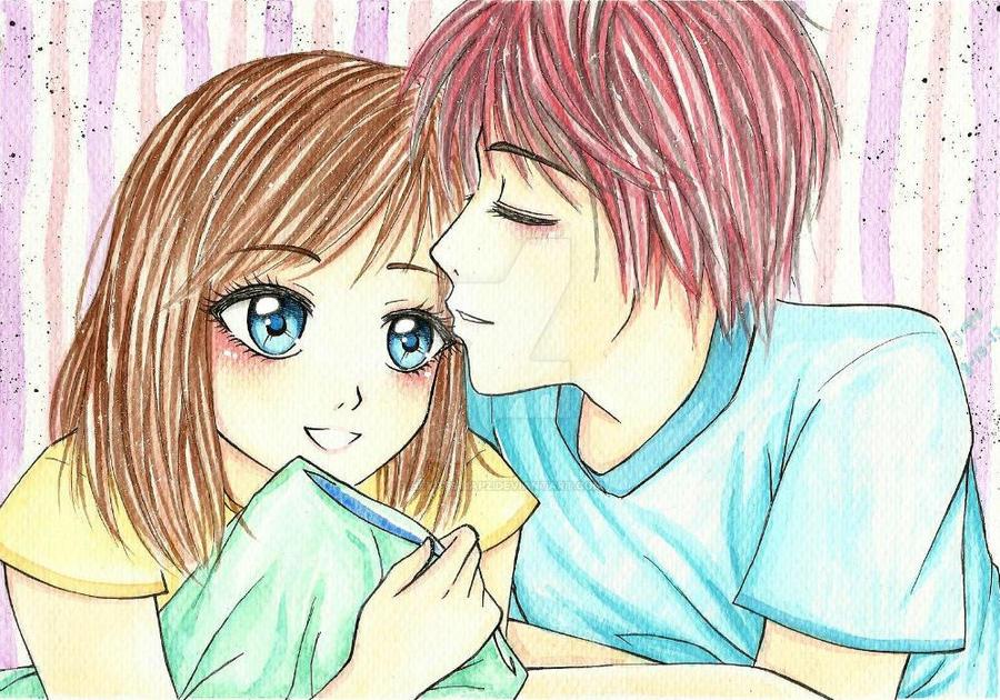 Sweet Kiss by hey-its-Japz