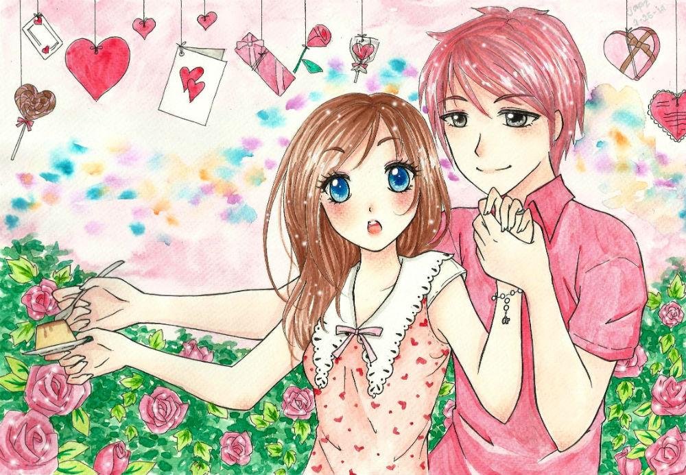 ::Be my Valentine:: by hey-its-Japz