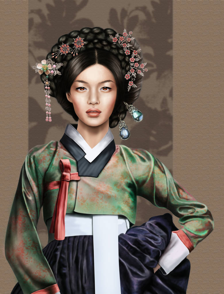 The Beauty Of Hanbok by imagase