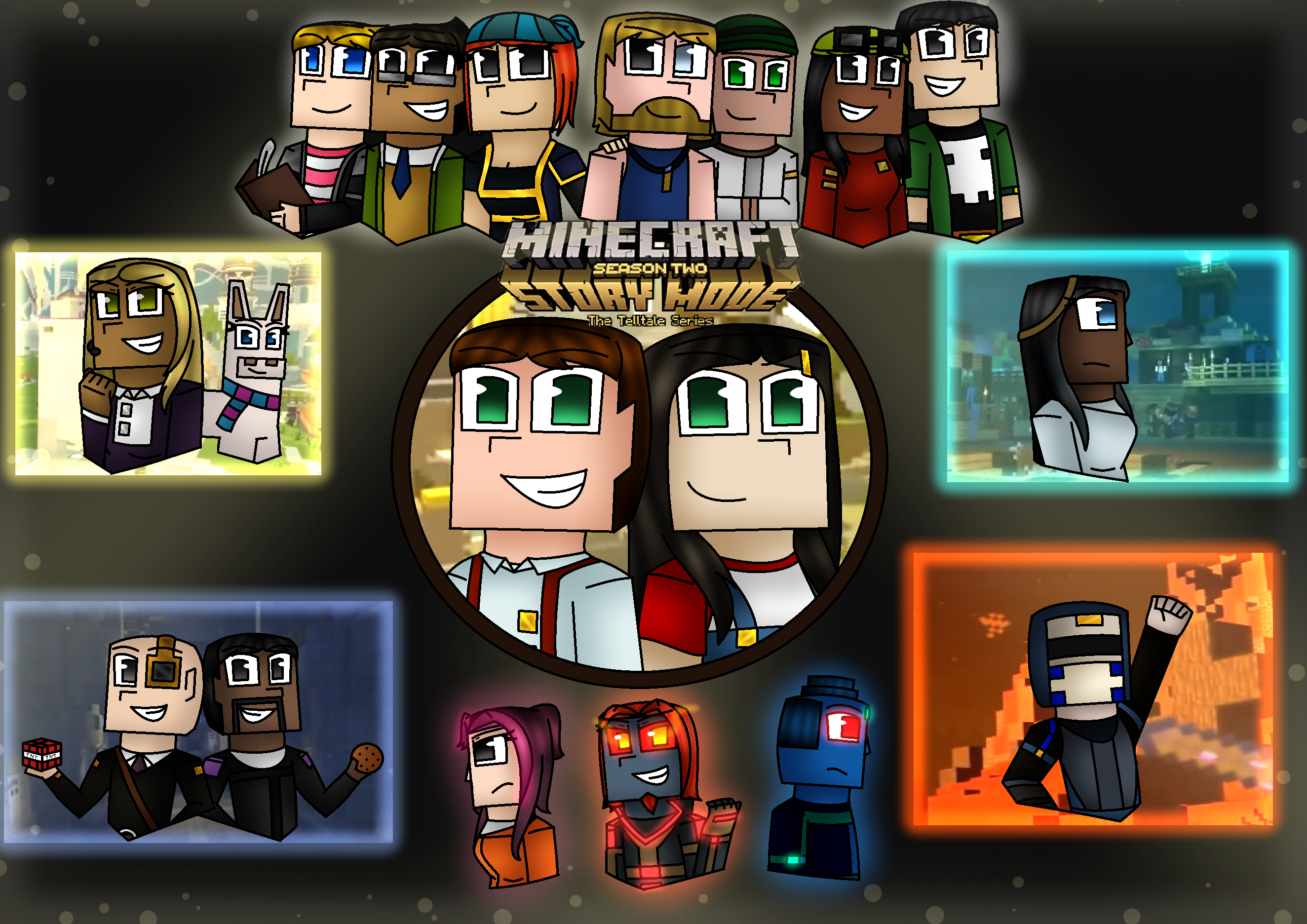 Minecraft Story Mode Season 2 By Bluegirlprincess On Deviantart