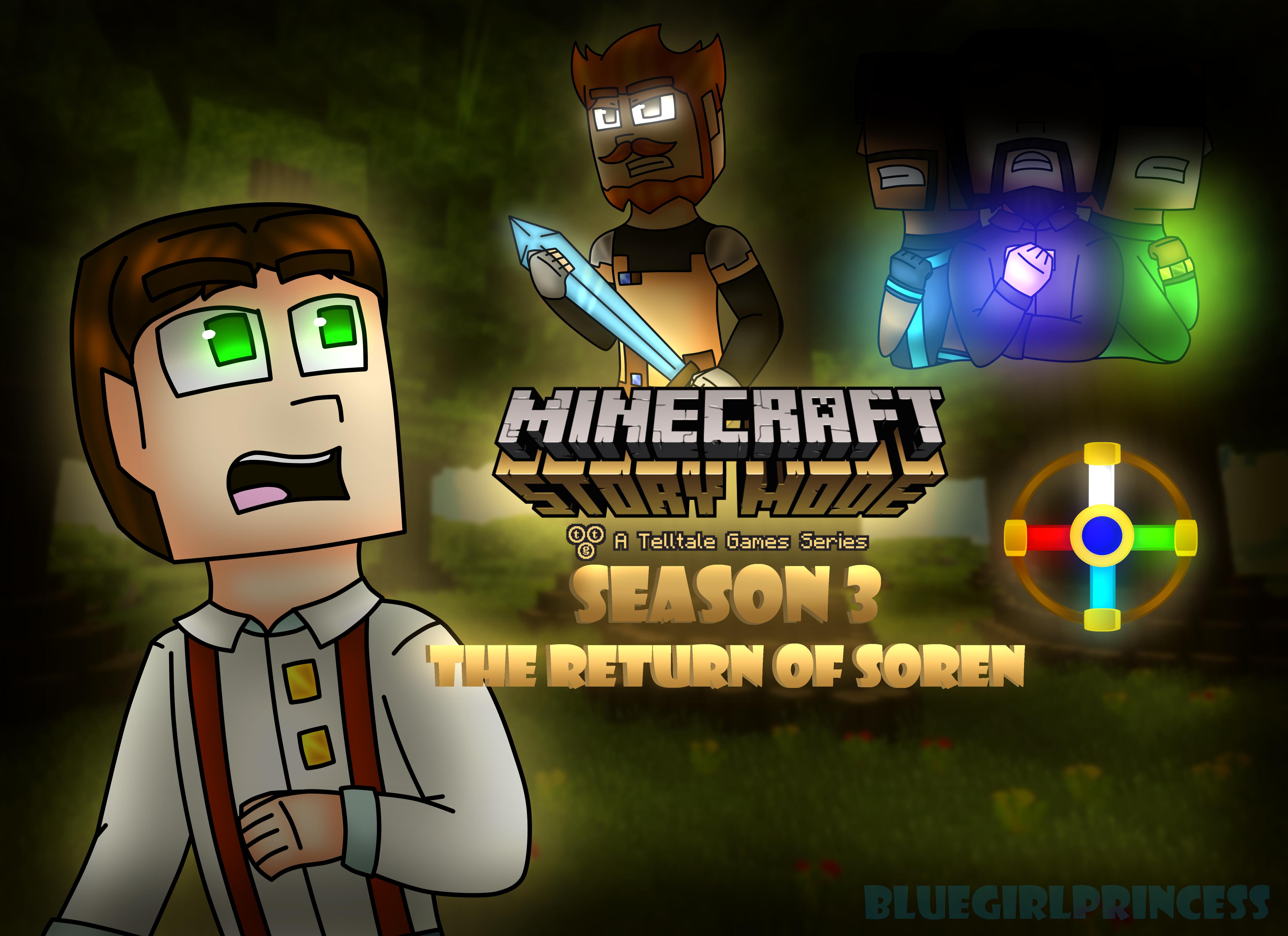 Minecraft Story Mode Season 3 The Return Of Soren By Bluegirlprincess On Deviantart