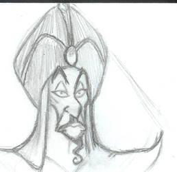 Jafar Doodle by JenOfAllTradesFanart