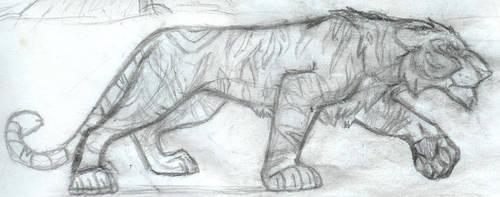Tiger by JenOfAllTradesFanart