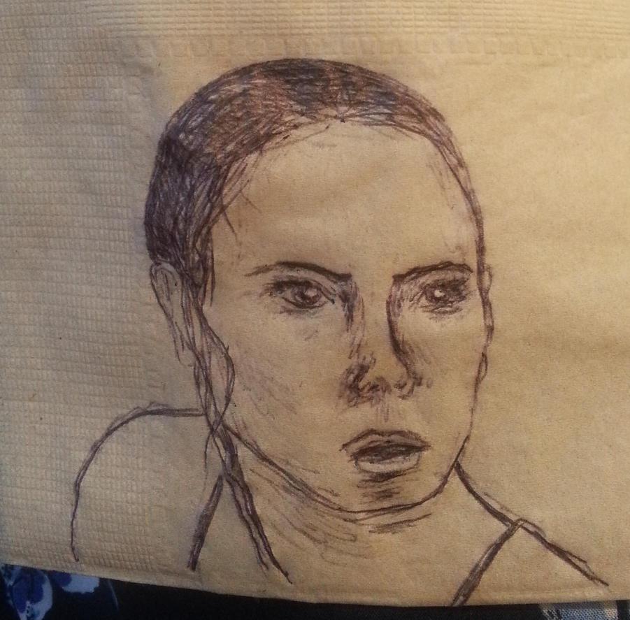 Rey Napkin Sketch by Incandescent-Panda