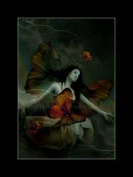 butterflywoman by kikxsuk