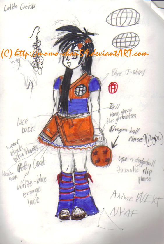 Lolita Goku Costume design