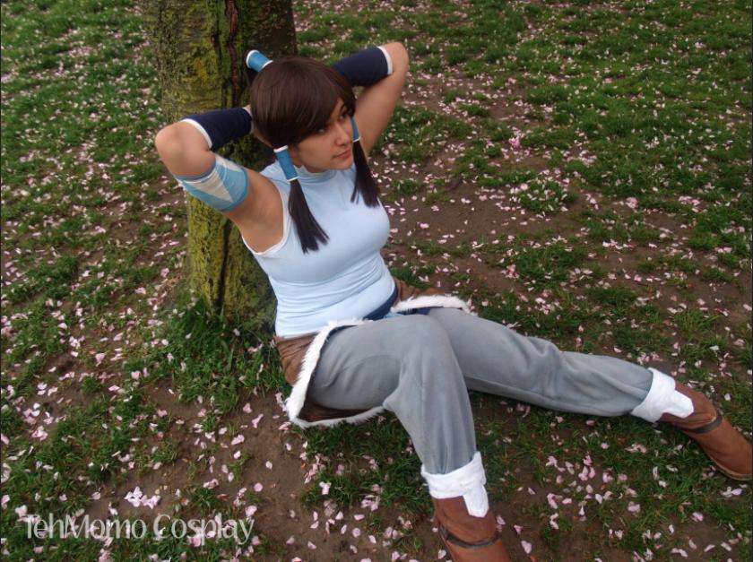 BBG: Korra: Take a Break by momo-chan59
