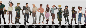 Fallout 4 - Character Sheet Line-up