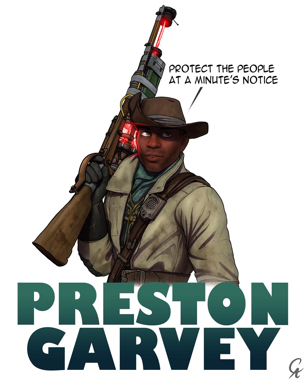 Preston garvey dating chat