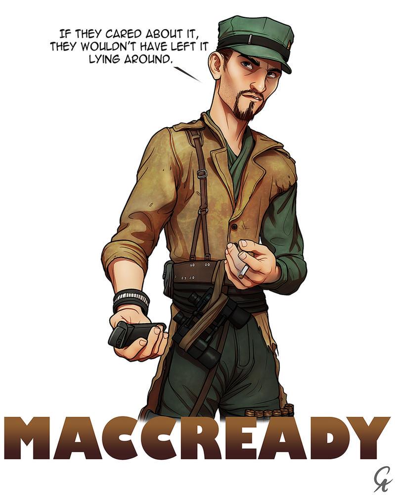 maccready fallout 4 by cameronaugust on deviantart
