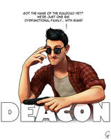 Deacon - Fallout 4 by CameronAugust