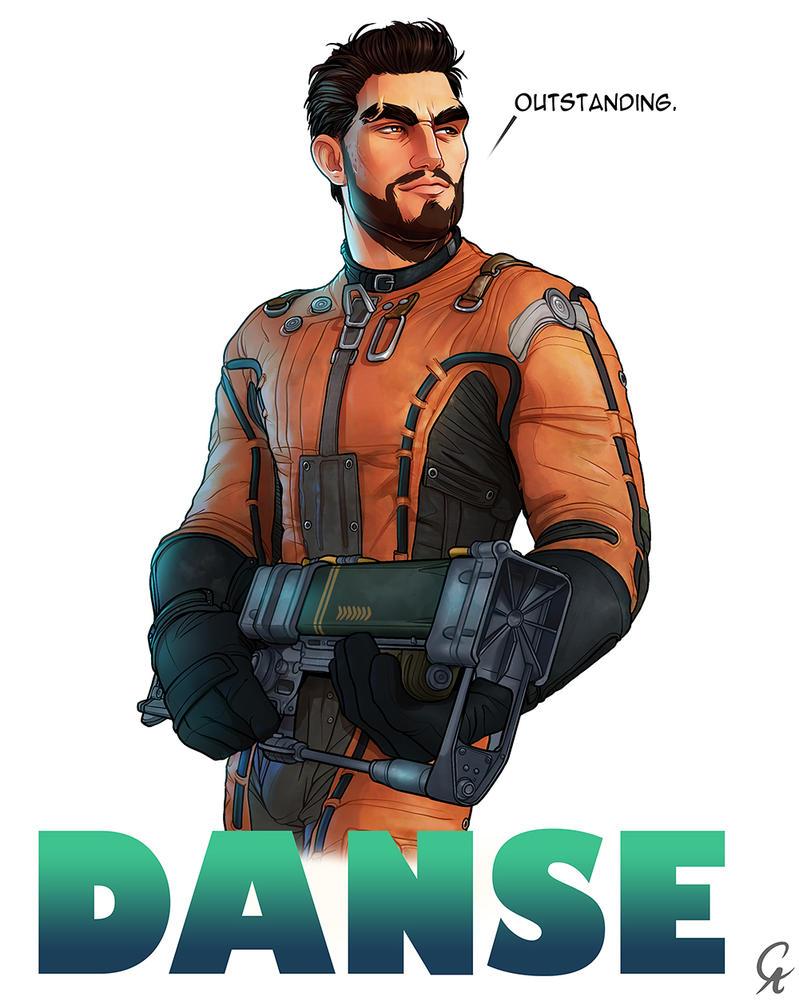 Paladin Danse - Fallout 4 by CameronAugust