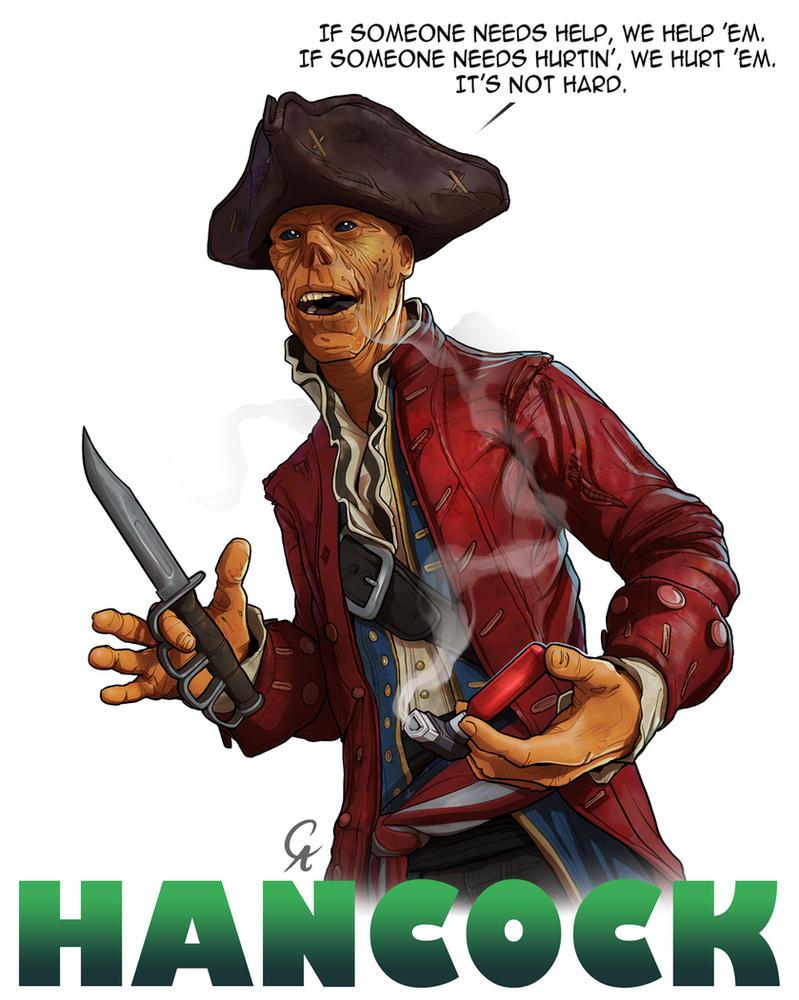 John Hancock - Fallout 4 by CameronAugust