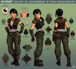 Sydney - Character Sheet - Full Body