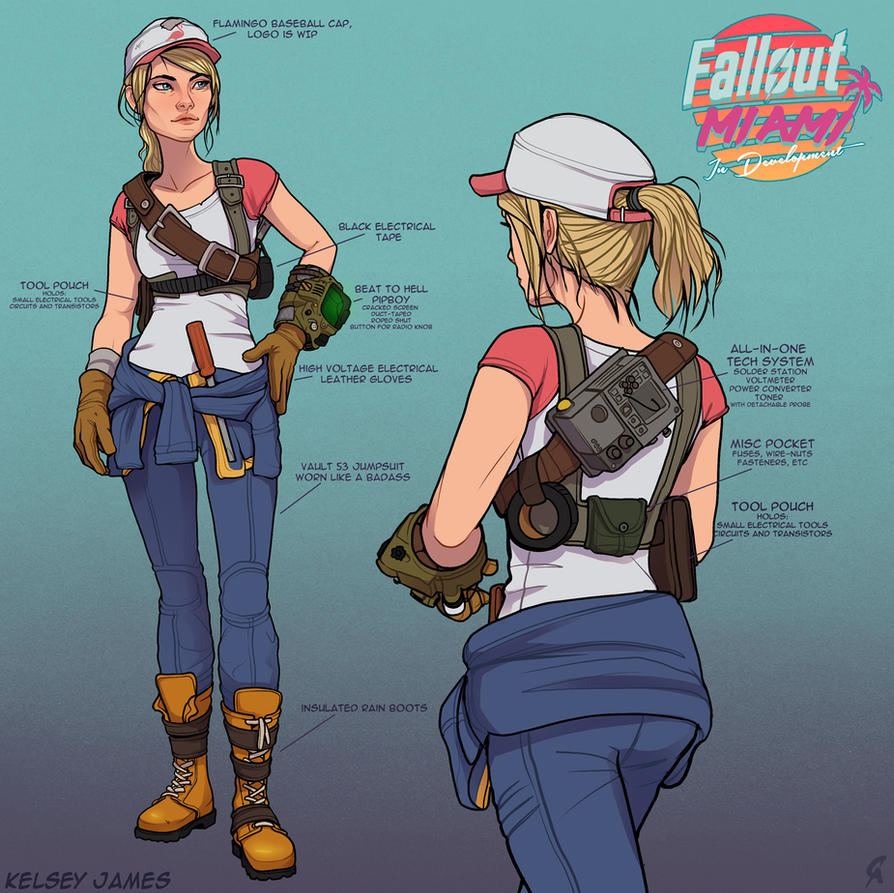 Fallout: Miami - Kelsey James by CameronAugust