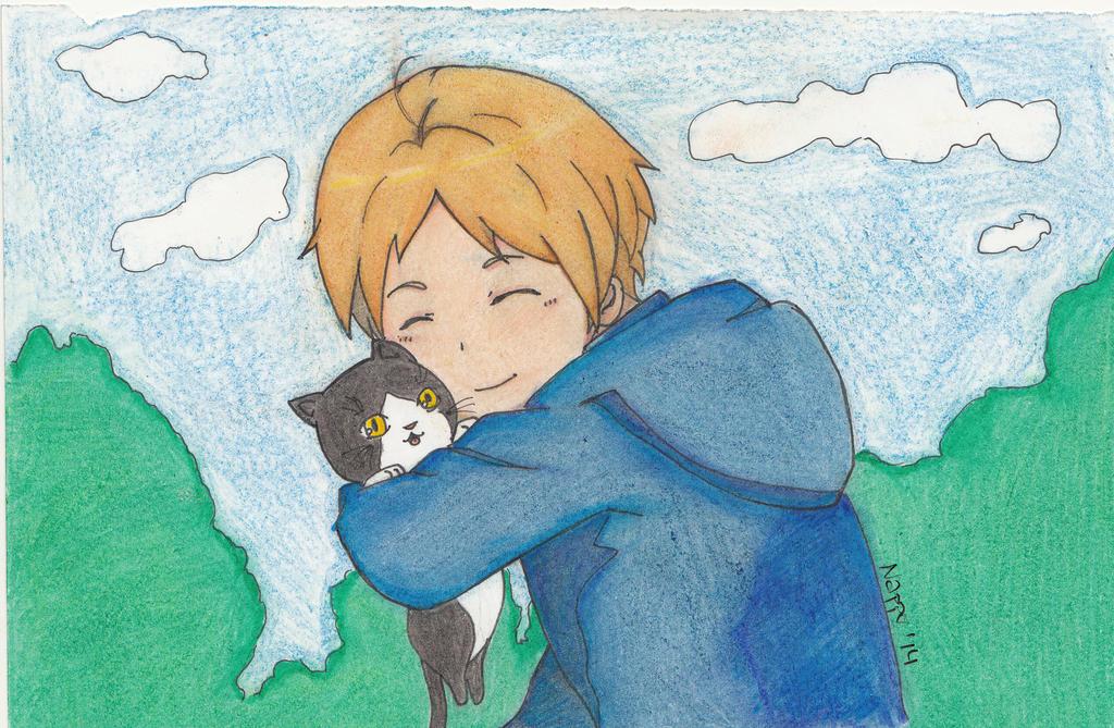 Warm hug~ by Nappo-pyon