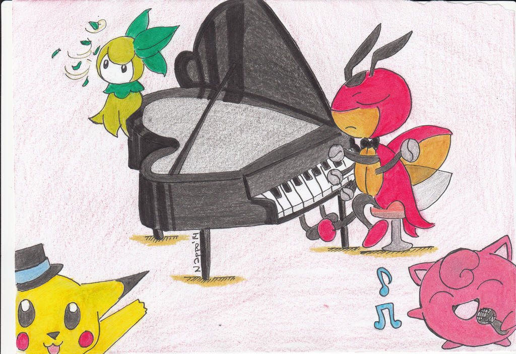 Ledian y su sonido de piano by Nappo-pyon