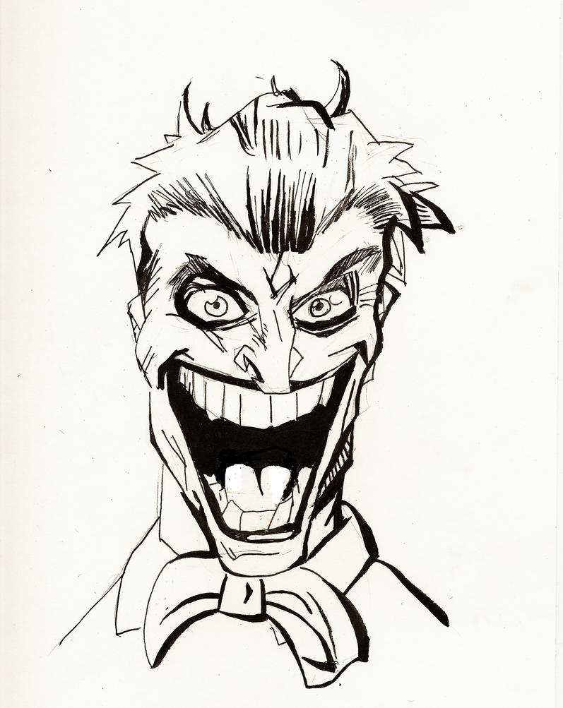 Images For > Joker Cartoon Drawings