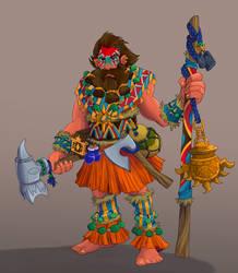 DND Dwarf Cleric
