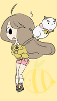 Bee and Puppycat by Flakycat