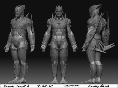 Zbrush Concept final model