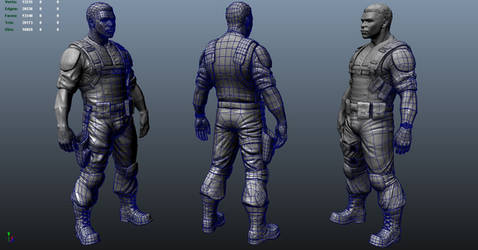 Jaycen Wise Sculpt Progress 3