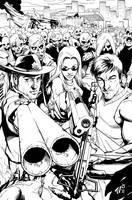 Commission-Walking Dead by TV-TonyVargas