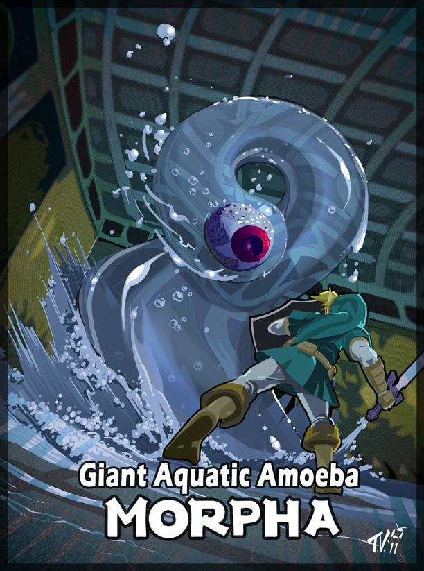 Link vs Amoeba by TV-TonyVargas